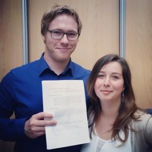 bur o bar - Sander Van der Maelen en Katleen Pirard, zaakvoerders