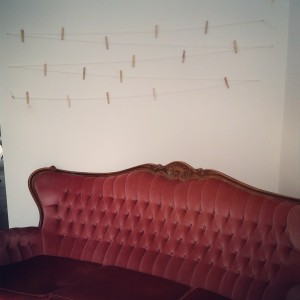 bur o bar zetel met waslijn