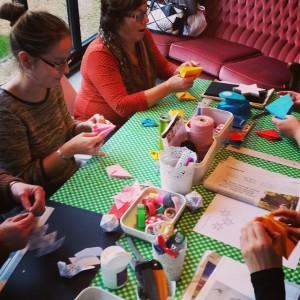 bur o bar kerstballenruil: workshop kerstdecoratie maken