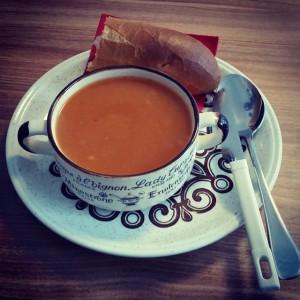 bur o bar soep: verse dagsoep - Tomatensoep - Coworking