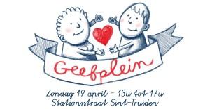 Geefplein in Sint-Truiden op zondag 19 april 2015 in bur o bar