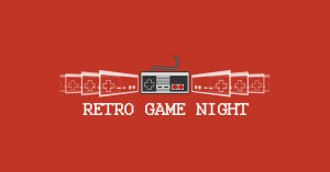 Retro Game Night in bur o bar, coworking en event ruimte in Sint-Truiden