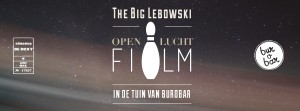 Openluchtfilm The Big Lebowski in bur o bar in Sint-Truiden